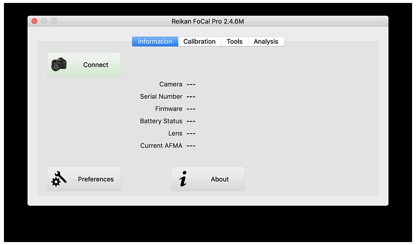 Reikan FoCal - Your First Calibration